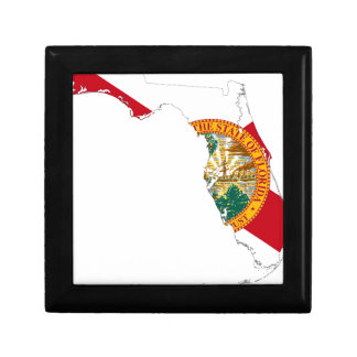 Flag Map Of Florida Gift Box