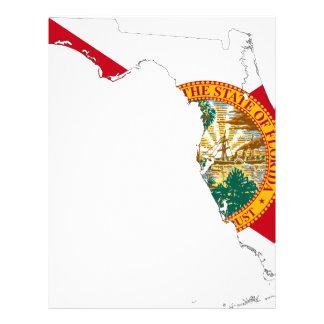 Flag Map Of Florida Letterhead