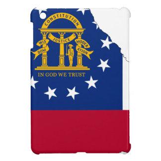 Flag Map Of Georgia Cover For The iPad Mini