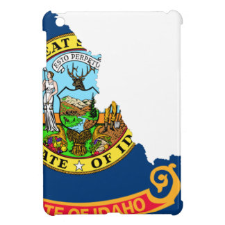 Flag Map Of Idaho iPad Mini Case