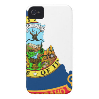 Flag Map Of Idaho iPhone 4 Cases