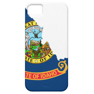Flag Map Of Idaho iPhone 5 Cases