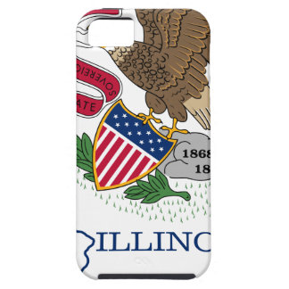 Flag Map Of Illinois iPhone 5 Case