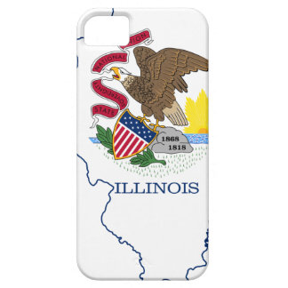 Flag Map Of Illinois iPhone 5 Cover