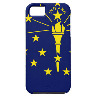 Flag Map Of Indiana iPhone 5 Case
