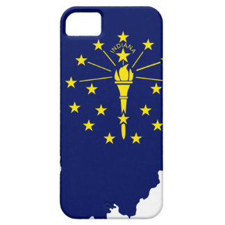 Flag Map Of Indiana iPhone 5 Covers