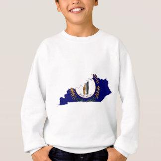 Flag Map Of Kentucky Sweatshirt