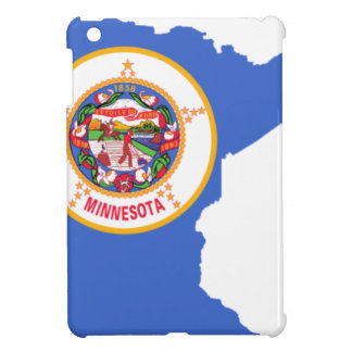 Flag Map Of Minnesota iPad Mini Case