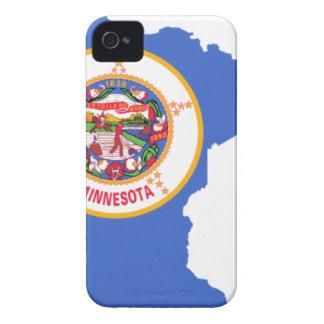 Flag Map Of Minnesota iPhone 4 Case