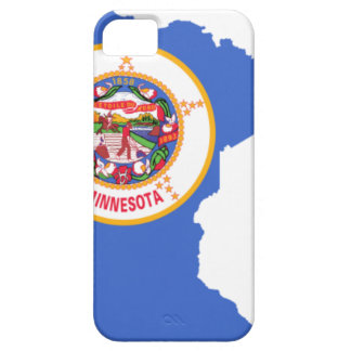 Flag Map Of Minnesota iPhone 5 Covers