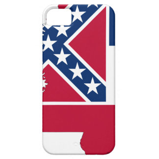 Flag Map Of Mississippi iPhone 5 Case