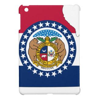 Flag Map Of Missouri iPad Mini Cover