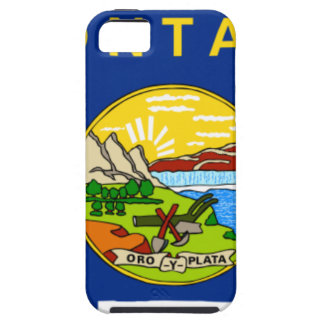 Flag Map Of Montana iPhone 5 Cover