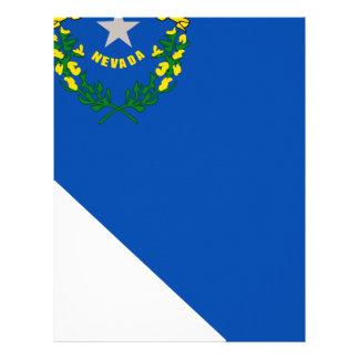 Flag Map Of Nevada Letterhead