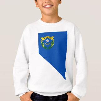Flag Map Of Nevada Sweatshirt