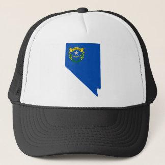 Flag Map Of Nevada Trucker Hat