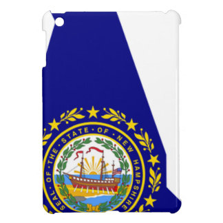 Flag Map Of New Hampshire Case For The iPad Mini