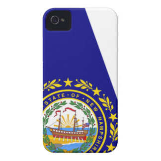 Flag Map Of New Hampshire Case-Mate iPhone 4 Case