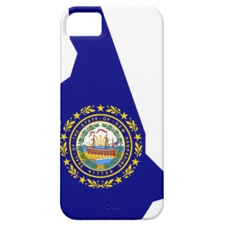 Flag Map Of New Hampshire iPhone 5 Cover