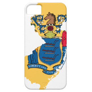 Flag Map Of New Jersey Case For The iPhone 5