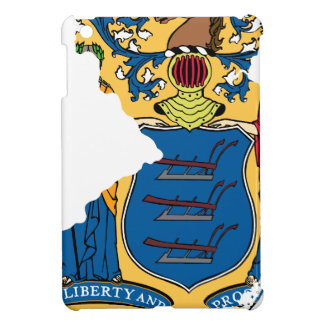 Flag Map Of New Jersey iPad Mini Cover