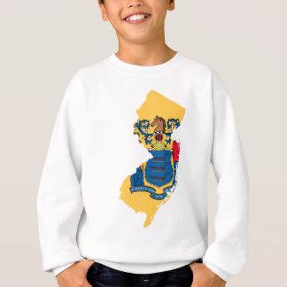 Flag Map Of New Jersey Sweatshirt