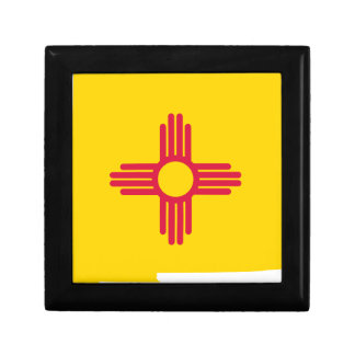 Flag Map Of New Mexico Gift Box