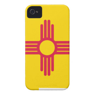 Flag Map Of New Mexico iPhone 4 Case-Mate Case
