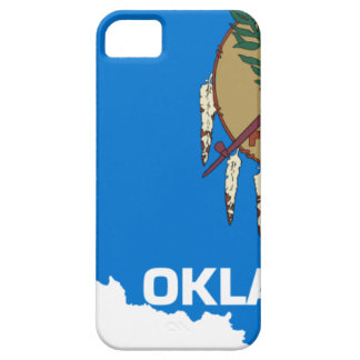 Flag Map Of Oklahoma Case For The iPhone 5