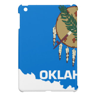 Flag Map Of Oklahoma iPad Mini Covers