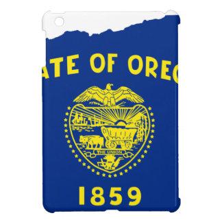 Flag Map Of Oregon Cover For The iPad Mini