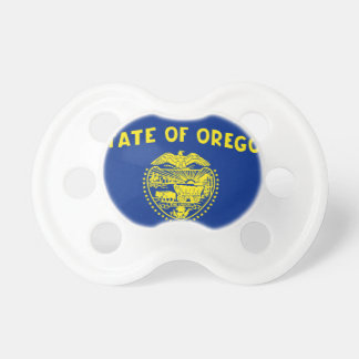 Flag Map Of Oregon Pacifier