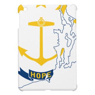 Flag Map Of Rhode Island iPad Mini Covers