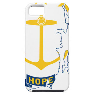 Flag Map Of Rhode Island iPhone 5 Cases
