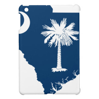 Flag Map Of South Carolina Cover For The iPad Mini