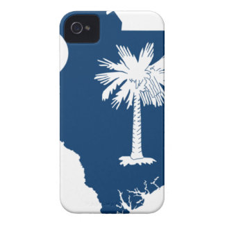 Flag Map Of South Carolina iPhone 4 Case-Mate Case