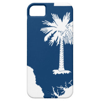 Flag Map Of South Carolina iPhone 5 Cases