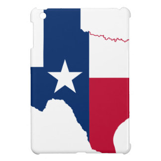 Flag Map Of Texas Cover For The iPad Mini