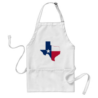Flag Map Of Texas Standard Apron