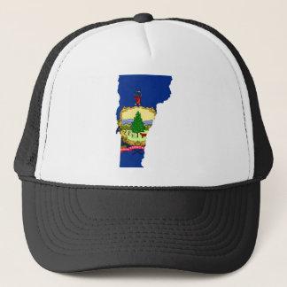 Flag Map Of Vermont Trucker Hat