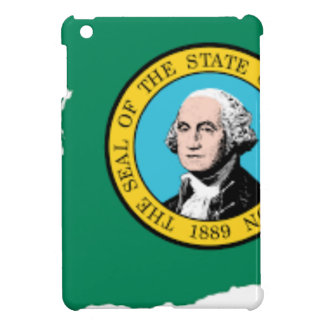 Flag Map Of Washington iPad Mini Case