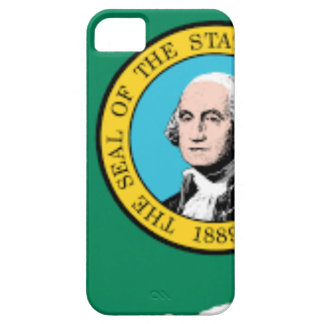 Flag Map Of Washington iPhone 5 Covers