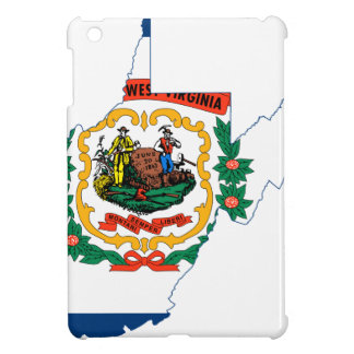 Flag Map Of West Virginia Case For The iPad Mini