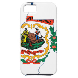 Flag Map Of West Virginia Case For The iPhone 5