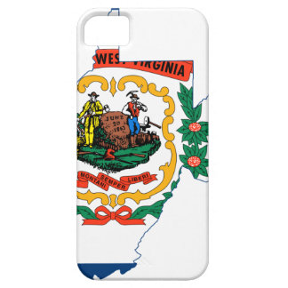 Flag Map Of West Virginia iPhone 5 Cover