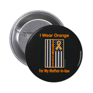 Flag/Mother-in-law...RSD/CRPS 2 Inch Round Button