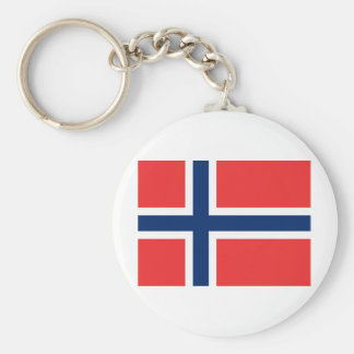 Flag Norway Key Chain