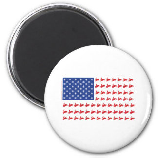 FLAG-O-SLEDS-Sno-Crosseps 2 Inch Round Magnet