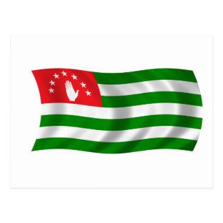 Flag of Abkhazia Postcard