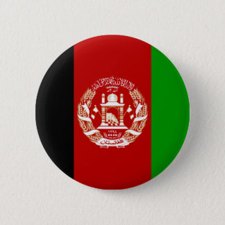 Flag of Afghanistan 2 Inch Round Button